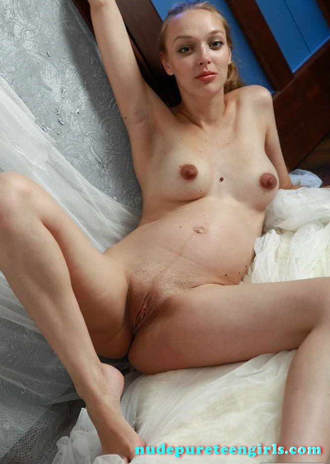 Pregnant  Nude Pure Teen Girls-5721